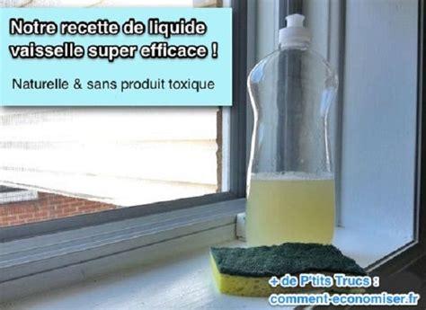 nettoyer matelas bicarbonate vinaigre liquide vaisselle la recette du liquide vaisselle maison efficace