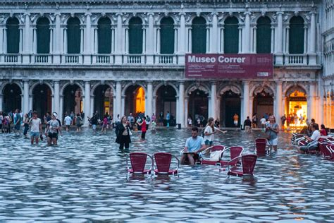 Venice Has Unusual Levels Of Water But The Locals Dont