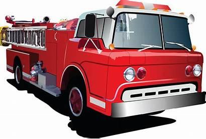 Fire Cartoon Truck Clipart Prevention Stacey