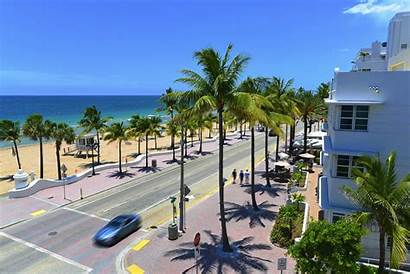 Florida Lauderdale Fort Miami Streets Palm Complete