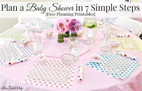 how to plan a baby shower how to plan a baby shower in 7 simple steps about a