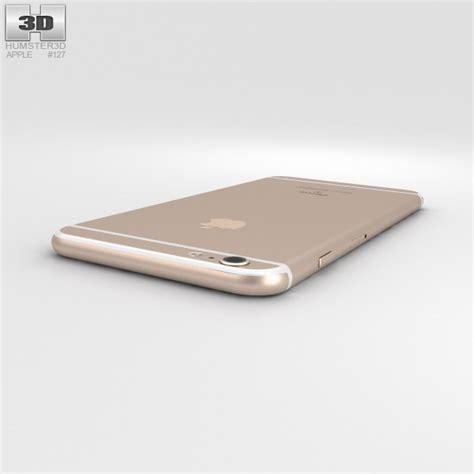 iphone 6s plus models apple iphone 6s plus gold 3d model humster3d