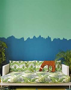 Bleu Vert Couleur : on met l 39 accent sur la couleur de peinture pour salon ~ Melissatoandfro.com Idées de Décoration