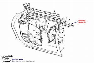 1953-2019 Corvette Rear Door Parts