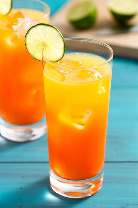 rum sunset recipe drinks and smoothies drinks rum