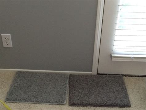 or light carpet with coventry gray walls