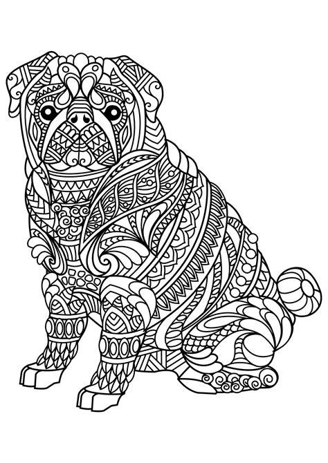 disegni da colorare animali cani cani 13485 cani disegni da colorare per adulti