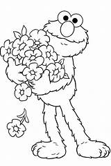 Elmo Coloring Pages Printable Getcolorings sketch template