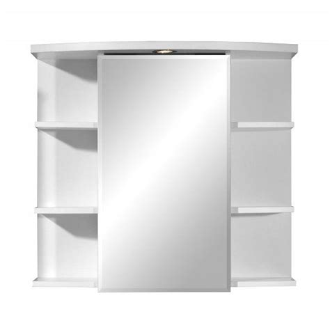 meuble salle de bain sensea armoire de salle de bain avec miroir et éclaira achat