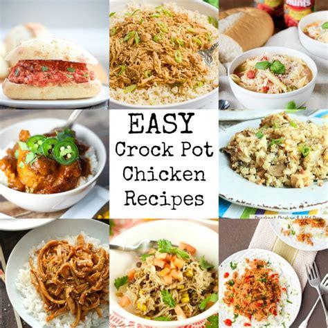 easiest crock pot meals the best weeknight crock pot recipes just dump and go