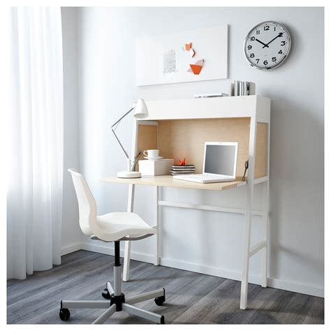 bureau pc ikea ikea ps 2014 bureau white birch veneer 90x127 cm ikea