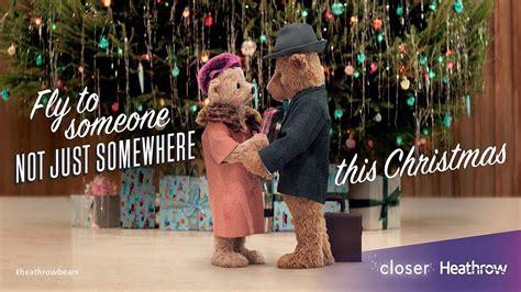 heathrow bears christmas tv advert 1funny com