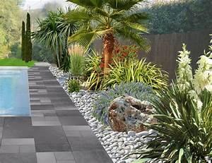 faire un jardin autour dune piscine planter les abords d With amenager une terrasse exterieure 16 quelles plantes pour un massif de bord de piscine