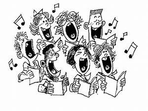church choir clipart   Church Choir Singing Clip Art ...