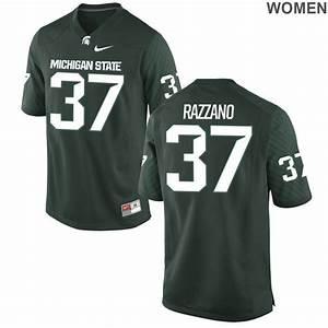 Women's Michigan State Spartans Dante Razzano Green ...