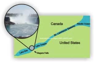Niagara Falls Location Map
