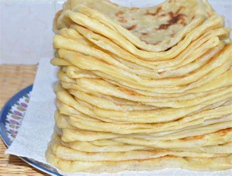 les recettes de la cuisine de asmaa msemens crêpes marocaines les recettes de la cuisine