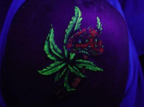 Marijuana Leaf Tattoos Pot 2