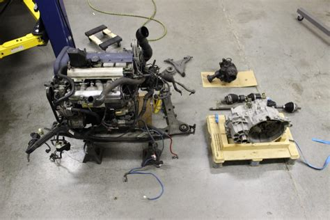 Replacing an Volvo 850 Transmission