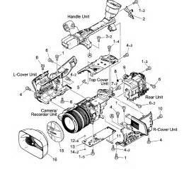 Canon Camcorder Parts