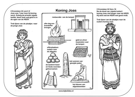 Kleurplaten Oude Testament by Koning Joas Oude Testament Bible Coloring Pages Bible