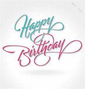 Happy Birthday Notes Design Vector Free Vector Graphic