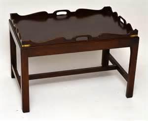 antique mahogany tray top coffee table antiques atlas With antique tray top coffee table