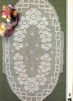 miria crochets et peintures tapis et centres de crochet avec ovale crochet d