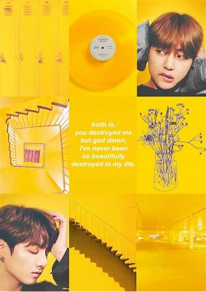 Yellow Aesthetic Bts Jungkook Wallpapers Wallpaperaccess