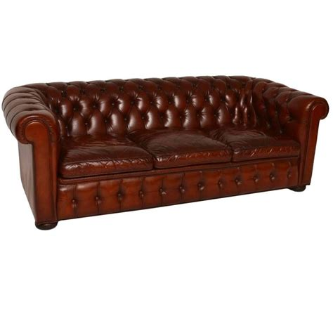 chesterfield sofas for sale antique leather three seat chesterfield sofa for sale at