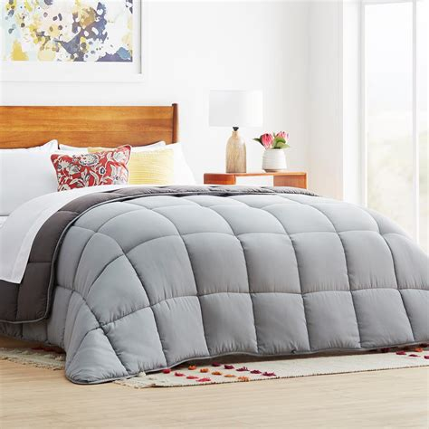 Cal King Alternative Comforter linenspa charcoal cal king alternative