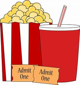 Movie Popcorn and Drink Clip Art - Movie Popcorn and Drink ...