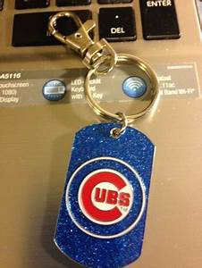 Free Brand New Bedazzled Chicago Cubs Logo Pendant on