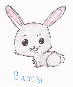 Cute Anime Bunny Cartoon Drawing Pictures To Draw - Litle Pups