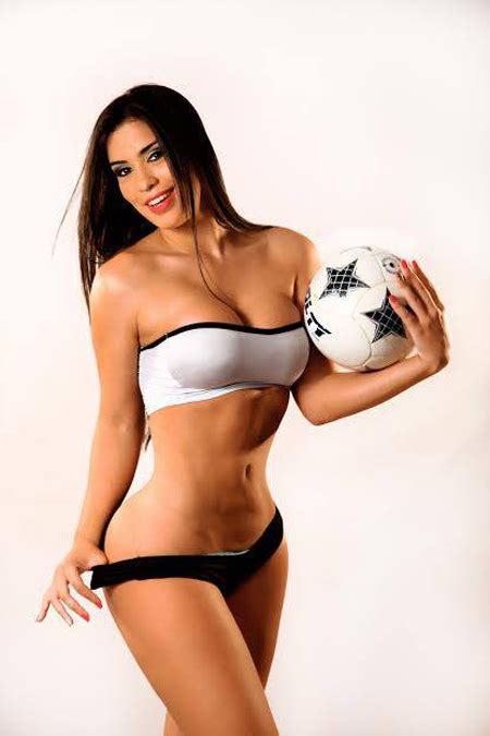 World Cup Uruguay Girl Ana Laura Chamorro Sexy Wallpapers Pictures Avzio