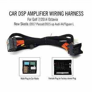 Car Dsp Amplifier Wiring Harness For New Skoda   2017