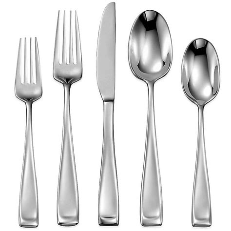 flatware oneida moda collection beyond bath bed seller registry bedbathandbeyond