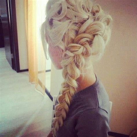 Braid Blonde Long Hair Updo Hair Pinterest Updo