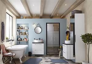 Store Salle De Bain : salle de bains 15 sols qui font la diff rence elle ~ Edinachiropracticcenter.com Idées de Décoration