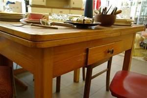 Küchentisch Ausziehbar : ruempelstilzchen schlichter k chentisch 40er jahre ~ Pilothousefishingboats.com Haus und Dekorationen