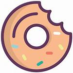 Icon Sweet Donut Dessert Sweets Kitchen Icons