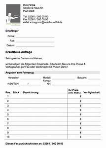 Ersatzteile anfrage vorlage formular kostenlos convictorius for Anfrage vorlage word