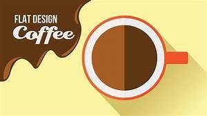 Adobe, Illustrator, Tutorial, -, How, To, Create, A, Flat, Design, U0026quot, Coffee, U0026quot