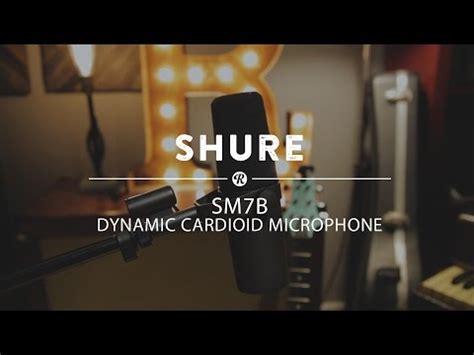 Shure SM7B Cardioid Dynamic Microphone | Reverb
