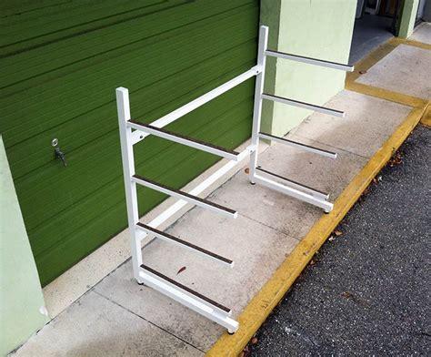 sup storage rack sup board racks atlantic aluminum marine