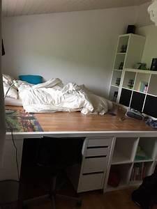 Lit Ikea Rangement : un incroyable lit estrade pour chambre d 39 ado ~ Teatrodelosmanantiales.com Idées de Décoration