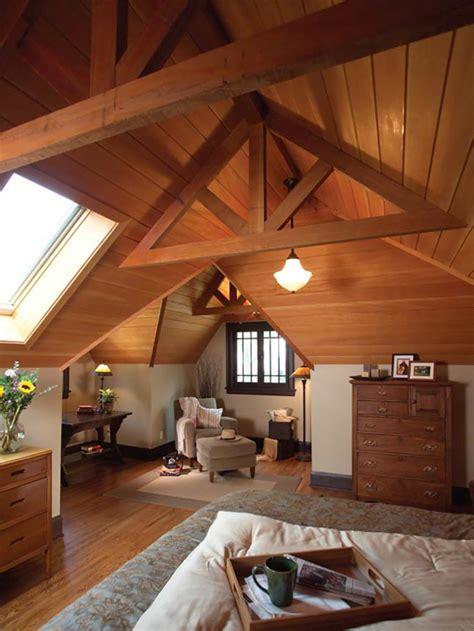 aménagement chambre à coucher aménagement des combles pour une chambre sous toit