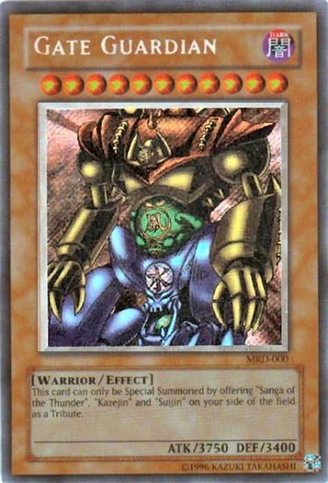 yu gi oh metal raiders single gate guardian secret rare