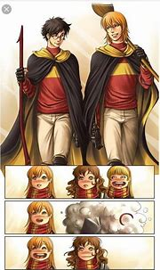 What are some best fanarts of Ron and Harry being the best ...