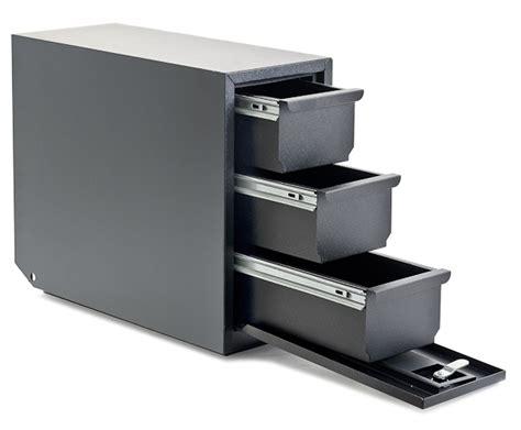 mini storage drawers mini mid bed universal 3 drawer storage unit in black